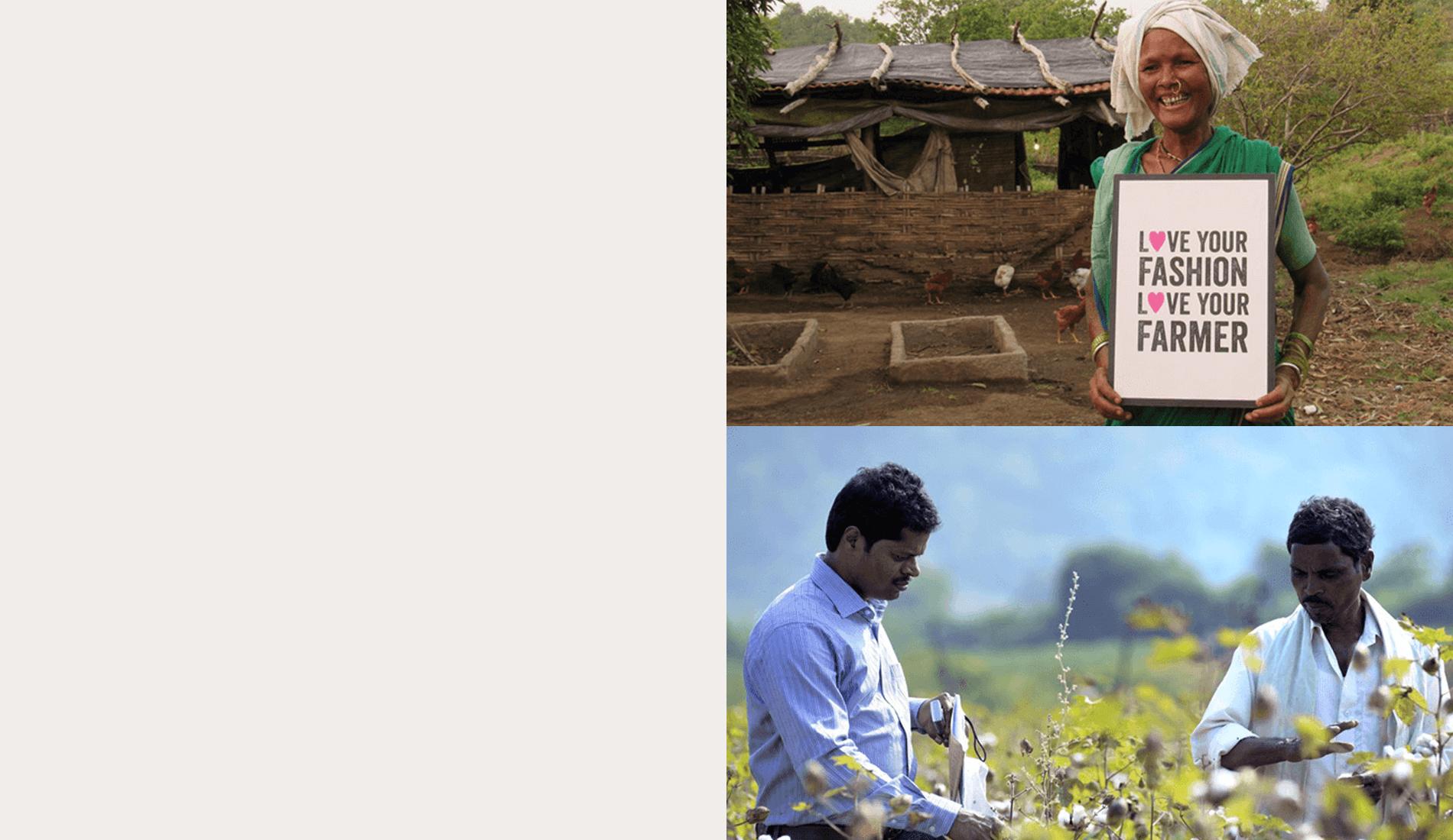 Fairtrade cotton farmer