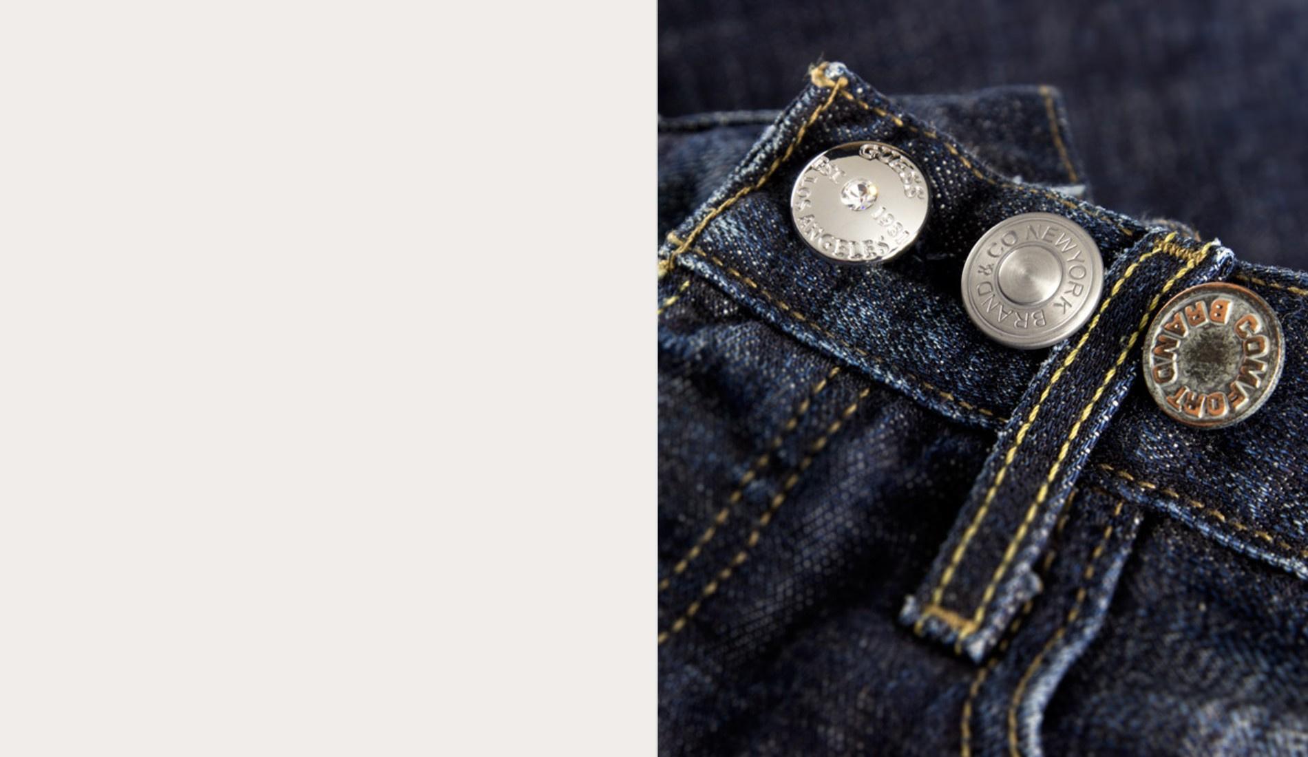 Metalbottoni No Impact jeans buttons