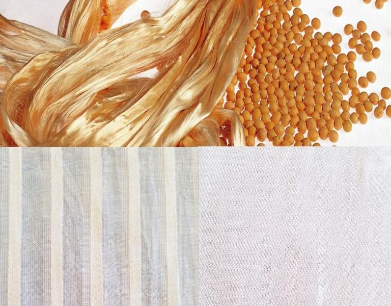 soy fabric, soybean fabric, soy silk